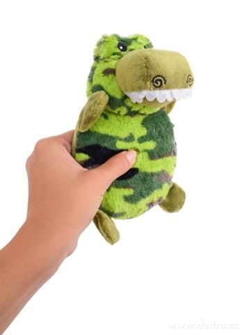 DA23995-Pískacie plyšová hračka krokodíl