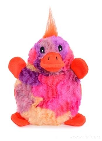 DA23993-Pískacie plyšová hračka kačička