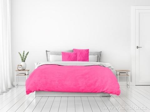 FC24016-XXL ROYAL LAGOON VELVET PREHOZ purpurovo ružový