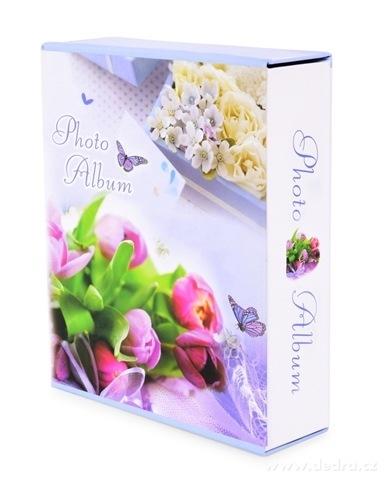DA24132-Fotoalbum ROMANTIC 20 listov tulipány