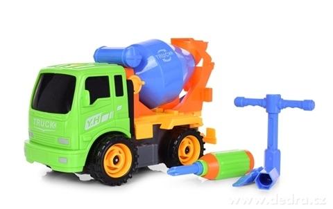 DA24152-CREATIV TRUCK nákladné auto so sadou náradia miešačka