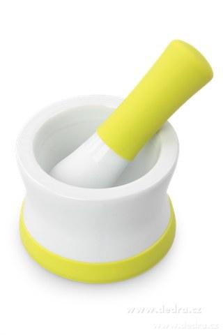 DA5488-Porcelánový mažiar so silikónovou