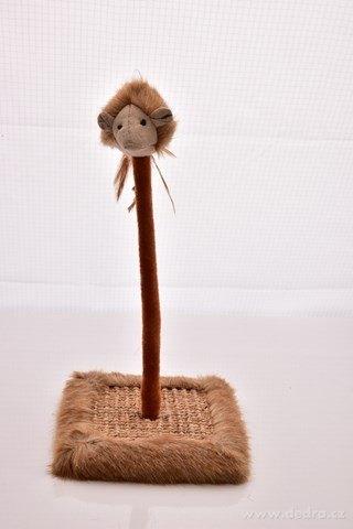 DA238121-Mačacie škrabadlo s hračkou na pružnom perky