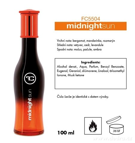 FC5504-midnight sun EDP pánska 100 ml