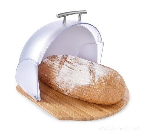 DA24722-FUTURE ORIGINÁLNY chlebník s odklápacím vekom a bambusovým dnom