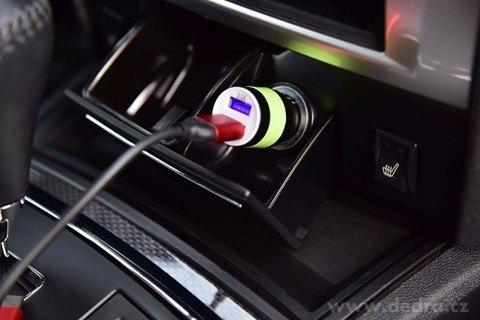 DA24851-2 x USB nabíjací adaptér do auta s bezpečnostným hrotom