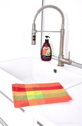 DA24883-Kuchynská utierka s farebnými pruhmi
