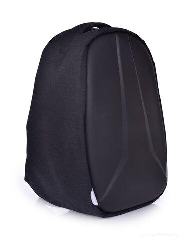 DA24911-Bezpečný batoh XXL TURTLE s USB pripojením a výstupom na slúchadlá