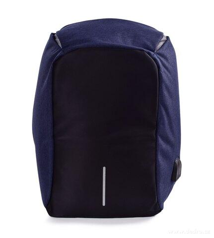 DA24913-TRAVEL & STUDENT štýlový a moderný batoh s USB pripojením a výstupom na slúchadlá