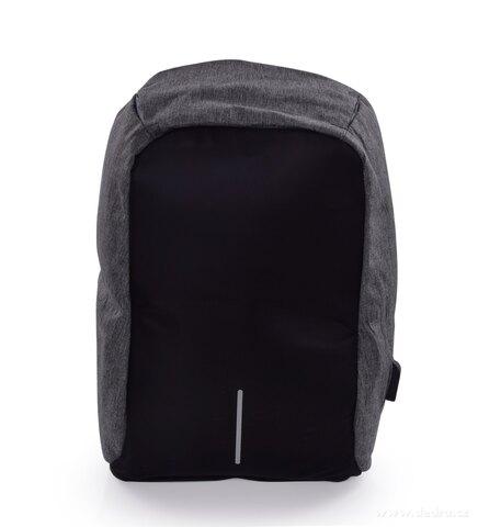 DA24912-Bezpečný batoh TRAVEL & STUDENT s USB pripojením