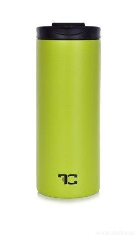 DA25061-Termohrnček HOT & COLD 400 ml s praktickým výklopným krytom na studené i teplé nápoje