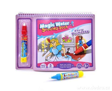 DA24165-Fairytale princezná čarovná kresliaci vodné knižka
