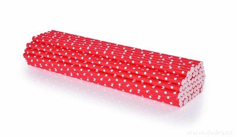 DA24593-50 ks EKOSLÁMKY papierové, jednorazové recyklovateľné a kompostovateľné