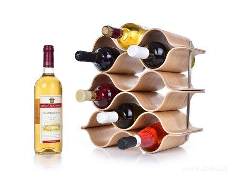 DA25211-BAMBOO vinotéka / stojan na víno