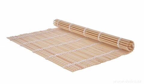 "DA25191-SUSHI PODLOŽKA ""Makis"" bambusová podložka na rolovanie sushi"