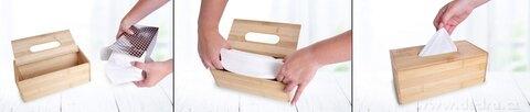 DA25171-Bambusová kazeta GoEco® na papierové vreckovky
