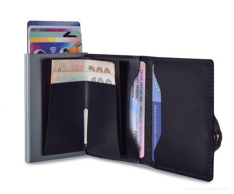 FC25303-FC SAFE kožená peňaženka pre ochranu platobných kariet