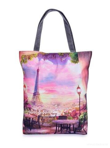 FC25333-Textilná kabelka / taška FC ELEGANT PARIS, s uzatváraním na zips