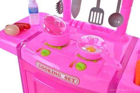 DA25501-Šikovná KUCHÁRKA kuchynský set pre malých gurmánov