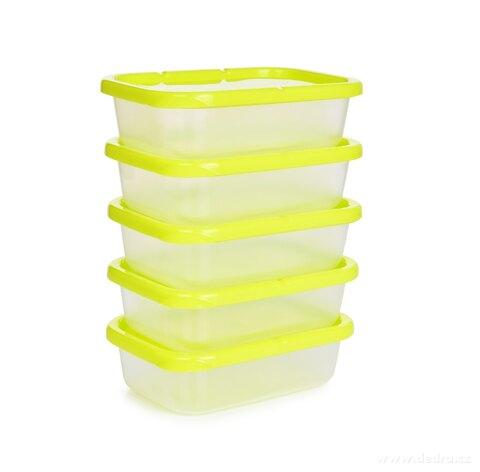 DA59671-5 ks dóza na potraviny Greenbox 300 ml, z odolného plastu