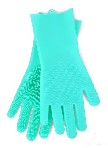 DA25812-2 KS SILISASANKA, silikónová rukavice na umývanie povrchov