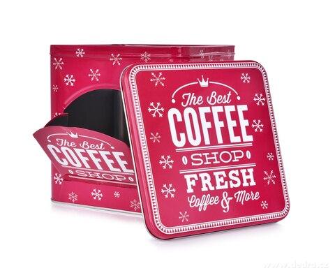DA26311-Kovová dóza QUALITY COFFEE na kávové kapsule