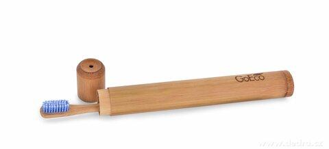 DA25082-Zubná kefka GoEco® BAMBOO z vysokotlakového bambusu s veľmi mäkkými štetinkami