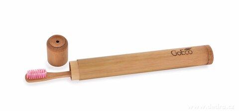 DA25084-Zubná kefka GoEco® BAMBOO z vysokotlakového bambusu s veľmi mäkkými štetinkami