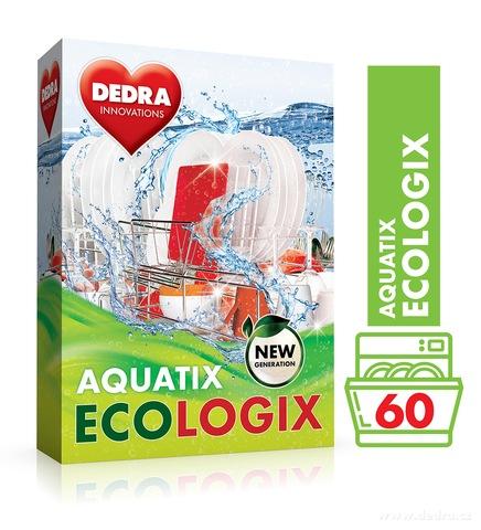 EX0701-AQUATIX ECOLOGIX multifunkčné prášok do umývačky