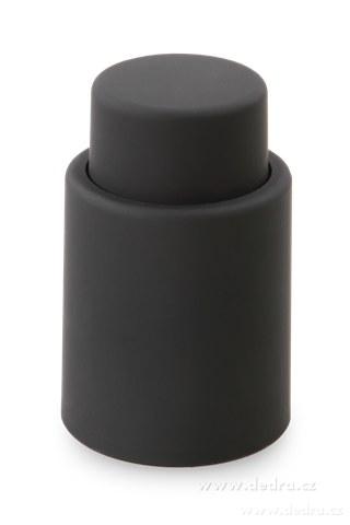 DA5751-FLAŠKÁTOR vákuový uzáver na fľaše čierny