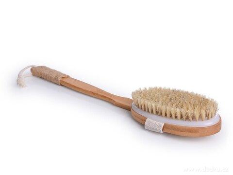 DA27072-KARTÁČ na umývanie s odnímateľnou rukoväťou z bambusu GoEco®