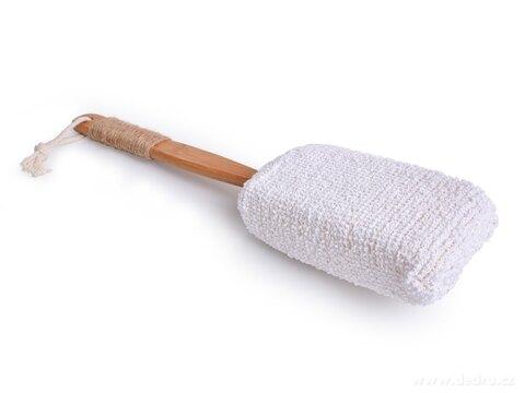 DA27071-FROTÉ HUBA na umývanie s odnímateľnou rukoväťou z bambusu GoEco®