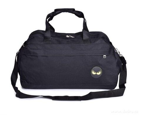 FC21024-ŠPORT & Weekender športová taška REBELITO® čierna