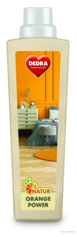 EP0692-Umývací prostriedok na podlahu NATUR ORANGE POWER s pomarančovým olejom na drevené podlahy, parkety a hladké povrchy