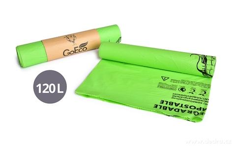 DA27233-5 ks EKOSÁČEK na odpadky, z kukurice, 100% kompostovateľný GoEco®