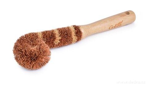 DA27312-Bambusová kefa so štetinami z kokosových vlákien