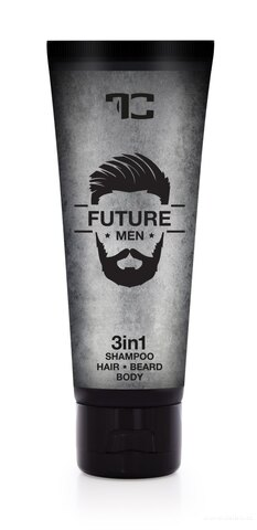 FC0731-3v1 šampón pre mužov na vlasy, telo a fúzy FUTURE MEN