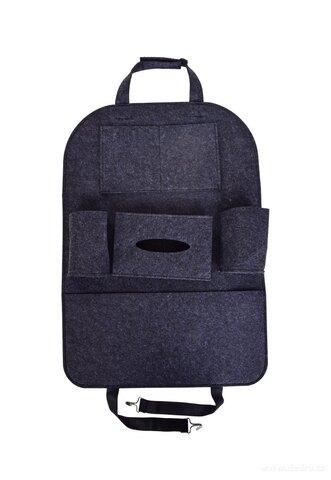 DA27831-Závesný filcový vreckár / organizér do auta na predné sedadlo
