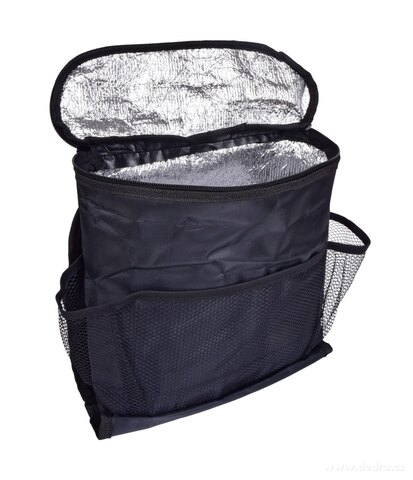 DA27841-Organizér do auta s termo vreckom na zips, na predné sedadlo