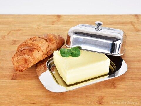DA27901-Nerezová máslenka, dóza na maslo