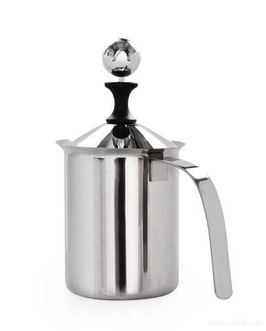 DA27931-500 ml nerezový ručný šľahač mlieka