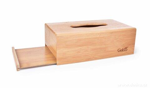 DA28231-Bambusová kazeta GoEco® na papierové vreckovky