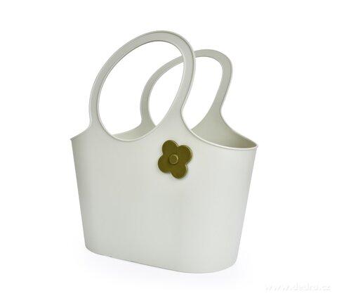 DA28553-Štýlová plastová taška FLOWER 5 L