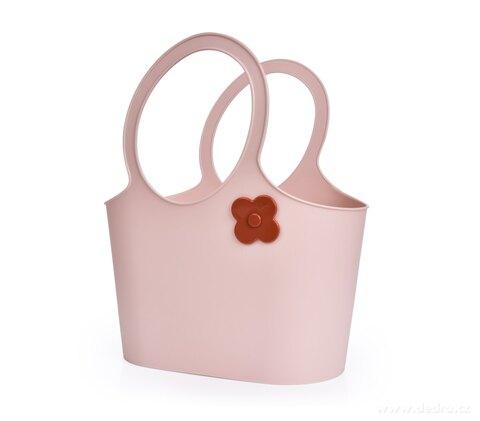 DA28552-Štýlová plastová taška FLOWER 5 L