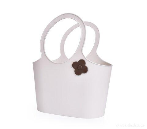 DA28551-Štýlová plastová taška FLOWER 5 L