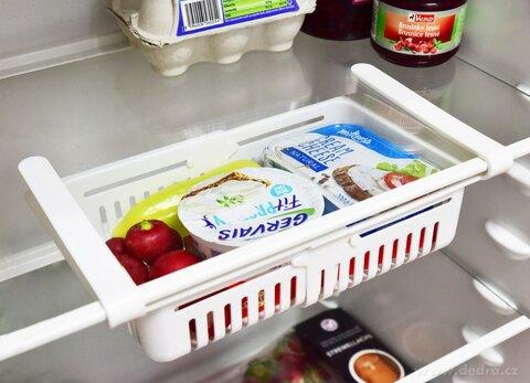 DA28661-NASTAVITEĽNÝ CHLADNIČKOPOŘÁDNÍK závesný košík do chladničky