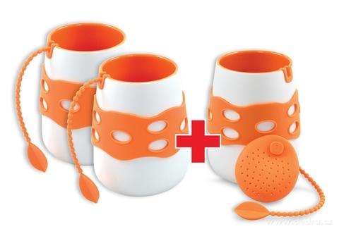 DA79992S-Sada 2 + 1 ZADARMO hrnček so sitkom na čaj