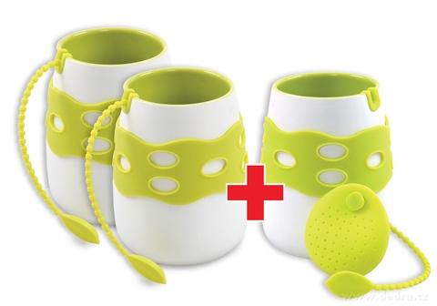 DA79991S-Sada 2 + 1 ZADARMO hrnček so sitkom na čaj
