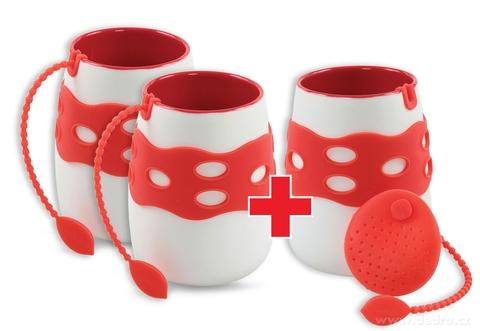 DA79996S-Sada 2 + 1 ZADARMO hrnček so sitkom na čaj