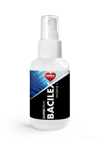 SB07101-70% alkoholový superčistič hladkých plôch SUPERSPRAY BACILEX Hygiene + 50 ml